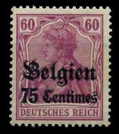 BES 1WK LP BELGIEN Nr 6b Ungebraucht X77AFD6 - Besetzungen 1914-18