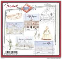 Bloc Capitale Européenne Madrid Neuf 2013 -  F4730 - Sheetlets