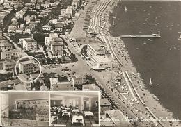 CATTOLICA - HOTEL BALNEARE - FORMATO GRANDE - VIAGGIATA 1961 - (rif. E68) - Rimini