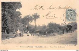Environs De CULAN - SIDIAILLES - Rond Point Du Bouquet - Très Bon état - Autres Communes
