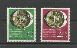 GERMANY DEUTSCHLAND 1951 WUPPERTAL UNUSED - Unused Stamps