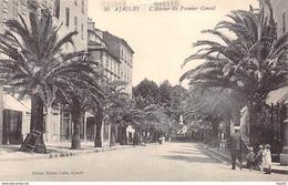 AJACCIO - L'Avenue Du Premier Consul - Très Bon état - Ajaccio