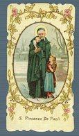 °°° Santino - S. Vincenzo De Paoli 1912 °°° - Religion &  Esoterik