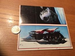 Sticker PANINI LE RETOUR DU JEDI (STAR WARS) «N°1, 4, 7, 78, 79, 80» (bloc De 6 Vignettes) - Panini