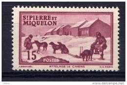 SPM - N° 292** - ATTELAGE - St.Pierre & Miquelon
