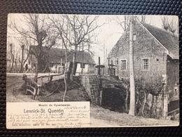 Sint-Kwintens-Lennik/Lennick-St-Quentin/-de Slagvijvermolen-Le Moulin Du Vyverseelen-1902 - Lennik