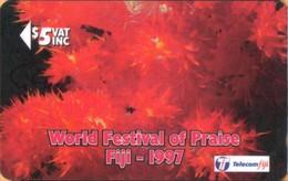 Fiji - GPT, FIJ-100, CN 20FJC, Reef Scene, World Festival Of Prise, 5$, 4000ex, 1997, Used - Fiji