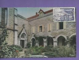 D 46 CPSM FIGEAC En QUERCY Interieur Des Cloitres Du Carmel Ecrites N038 - Figeac