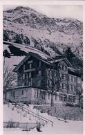 Wengen BE, Hotel Schweizerheim Sous La Neige (7.2.40) - BE Berne