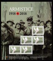 CANADA  2018 #    100th ANNIVERSARY Of ARMISTICE - Blocs-feuillets