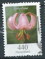 ALLEMAGNE ALEMANIA GERMANY DEUTSCHLAND BUND 2014 FLOWERS DEFINITIVE: TURK'S CAP LILY USED MI 3118 YV 2933 SC 2818 SG - [7] République Fédérale