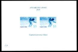 Antarctica Post Presentation Card. Captain Oates. - Unclassified