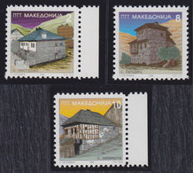 Macedonia 1996 Definitive - Architecture, MNH (**) Michel 86-88 - Mazedonien
