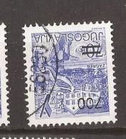 1989  2392  DEF-PERF 13 1-4 ZAGREB SPORT  CROAZIA  JUGOSLAVIJA JUGOSLAWIEN USED - 1945-1992 Repubblica Socialista Federale Di Jugoslavia