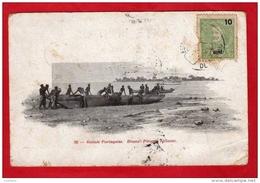 Guinée Portugaise - Guinea - Guine Bissau - Pirogue Ballante - 1909 ( 2 Scans ) - Guinea-Bissau