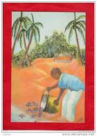 Illustration Protection Des Tortues Turtles Tartarugas  São Tomé E Principe Afrique Africa - Sao Tome Et Principe