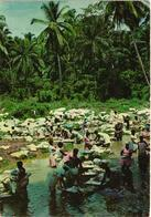 São Tome Principe S. Thomé - Lavadeiras No Água Grande Lavandiéres Washerwomen 1960s Afrique Portugaise Africa - Sao Tome Et Principe