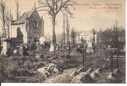 ELVERDINGE ELVERDINGHE RUINES LE CIMETIERE - Weltkrieg 1914-18