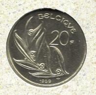 20 Frank 1989 Frans * F D C Uit Muntenset * - 07. 20 Francs