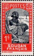Soudan Poste N* Yv: 60 Mi:60 Femme Peulh (Trace De Charnière) - Soudan (1894-1902)