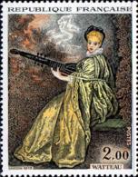 France Poste N** Yv:1765 Mi 1846 Yv:1,5 Euro Antoine Watteau La Finette (Thème) - Arte