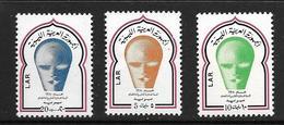 LIBYE 1971 UNESCO  YVERT N°381/83  NEUF MNH** - Libye