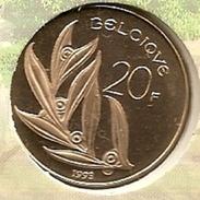 20 Frank 1993 Frans * F D C * BOUDEWIJN * - 07. 20 Francs
