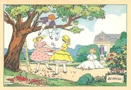 Illustrateur Barré Et Dayez 1519 A - Les Cerises  Jeux D' Enfants   Y 83 - Illustrateurs & Photographes