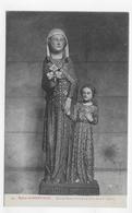 SAINT PAIR - N° 34 - L' EGLISE - STATUE DE SAINTE ANNE EN BOIS DU XIVe SIECLE - CPA NON VOYAGEE - Saint Pair Sur Mer