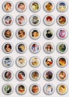 35 X Mary Cassatt Painting Fan ART BADGE BUTTON PIN SET 5 (1inch/25mm Diameter) - Badges