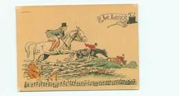 Illustrateur Barré Et Dayez 1429 G - Sonneries De Trompes  Le Lancée  Chasse Signé Jack Y 87 - Illustrateurs & Photographes