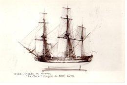 Musée De La Marine La Flore Fregate Du XVIIIe Siecle  CPM Ou CPSM - Museum