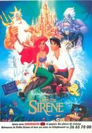 Walt Disney' S - Affiche La Petite Sirene    Y 93 - Disney