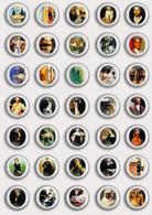 35 X John Singer Sargent (American Painter Painting Fan ART BADGE BUTTON PIN SET 1 (1inch/25mm Diameter) - Badges