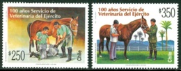 CHILE 1998 ARMY VETERINARY SERVICES** (MNH) - Chile