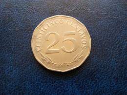 BOLIVIE   25  Centavos  1972 - Bolivia