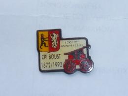 Pin's SAPEURS POMPIERS DE BOUST - Pompiers