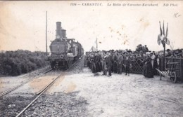 29 -  CARANTEC -  La Halte De Carantec Kerichard ( Train, Chemin De Fer ) - Carantec