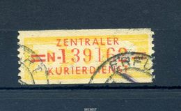 DDR ZKD 1958 Nr 17 N Gestempelt (97656) - DDR