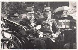 AK - Kaiser Franz Josef Mit Erzherzog Friedrich - Orig. Aufnahme - Historische Persönlichkeiten