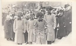 AK -Kaiser Franz Josef U. Erzherzog Karl In Uniform Nit Federbusch Hut - Orig. Foto AK - Historische Persönlichkeiten