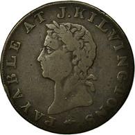 Monnaie, Grande-Bretagne, Middlesex, J Kilvington, Halfpenny Token, 1795, TB - Monnaies Régionales