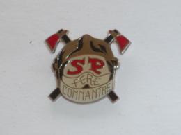 Pin's SAPEURS POMPIERS DE CONNANTRE - Pompiers