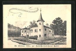 CPA St-Germain-Laval, Au Chateau D`Aix - Saint Germain Laval