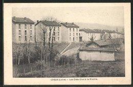 CPA Izieux, Les Cites Gilet A La Rivoire - France