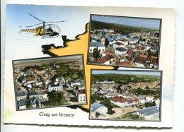 CP-France -54- Cirey-sur-Vezouze-vues D'hélicoptère (non écrite, TBE) - Cirey Sur Vezouze