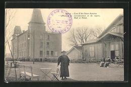 CPA Nancy, Cure D`Air Saint-Antoine (Maison De Convalescence Et De Repos) Hall Et Hotel - Nancy