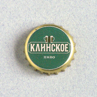 Capsule Bière Brasserie Klin, Russie (crown Beer Cap, Kronkorken, Tappi Birra) - Birra