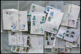 SAMMLUNGEN Brief,o , 1980-89, Partie Diverser Ausgaben, Fast Nur Auf FDC`s Und Einzelmarken, Pracht, Mi. über 200.- - Finnland