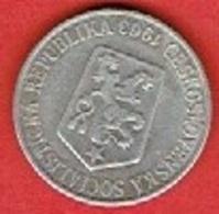 CZECHOSLOVAKIA # 25 Haléřů FROM 1963 - Czechoslovakia